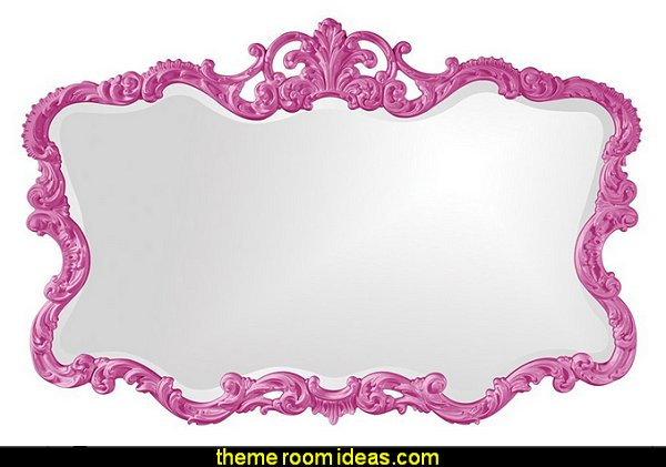Howard Elliott 21183HP Talida Mirror, Hot Pink