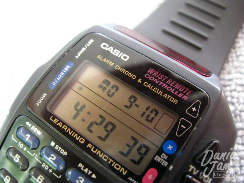 Casio Remote Control watch Manual
