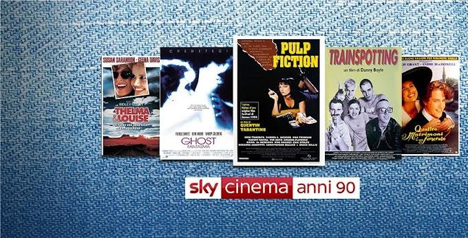 Cinema Anni 90 HD - Hotbird Frequency