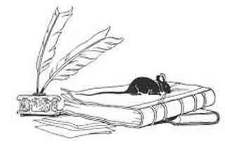 fábula: EL erudito y el ratón