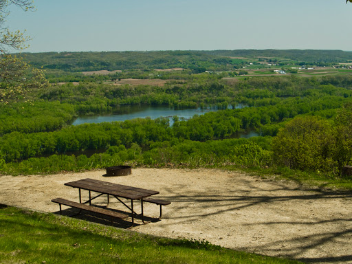 Campsites at Wyalusing State Park - Prairie Du Chien Wisconsin