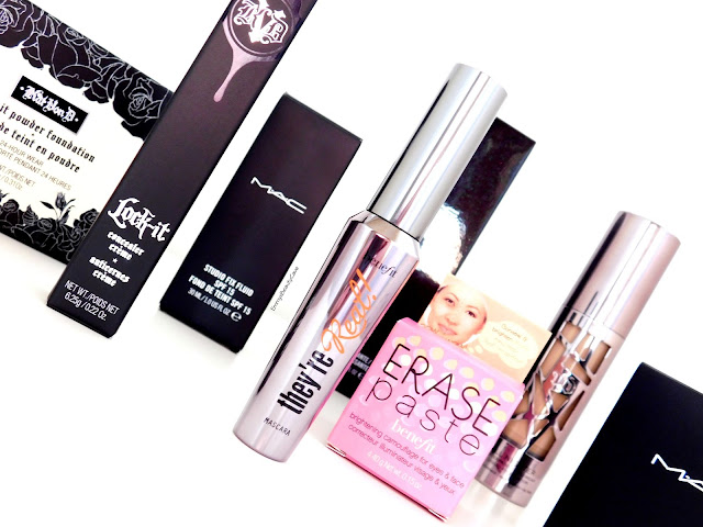High End Beauty Haul ft Kat Von D Urban Decay Benefit and MAC