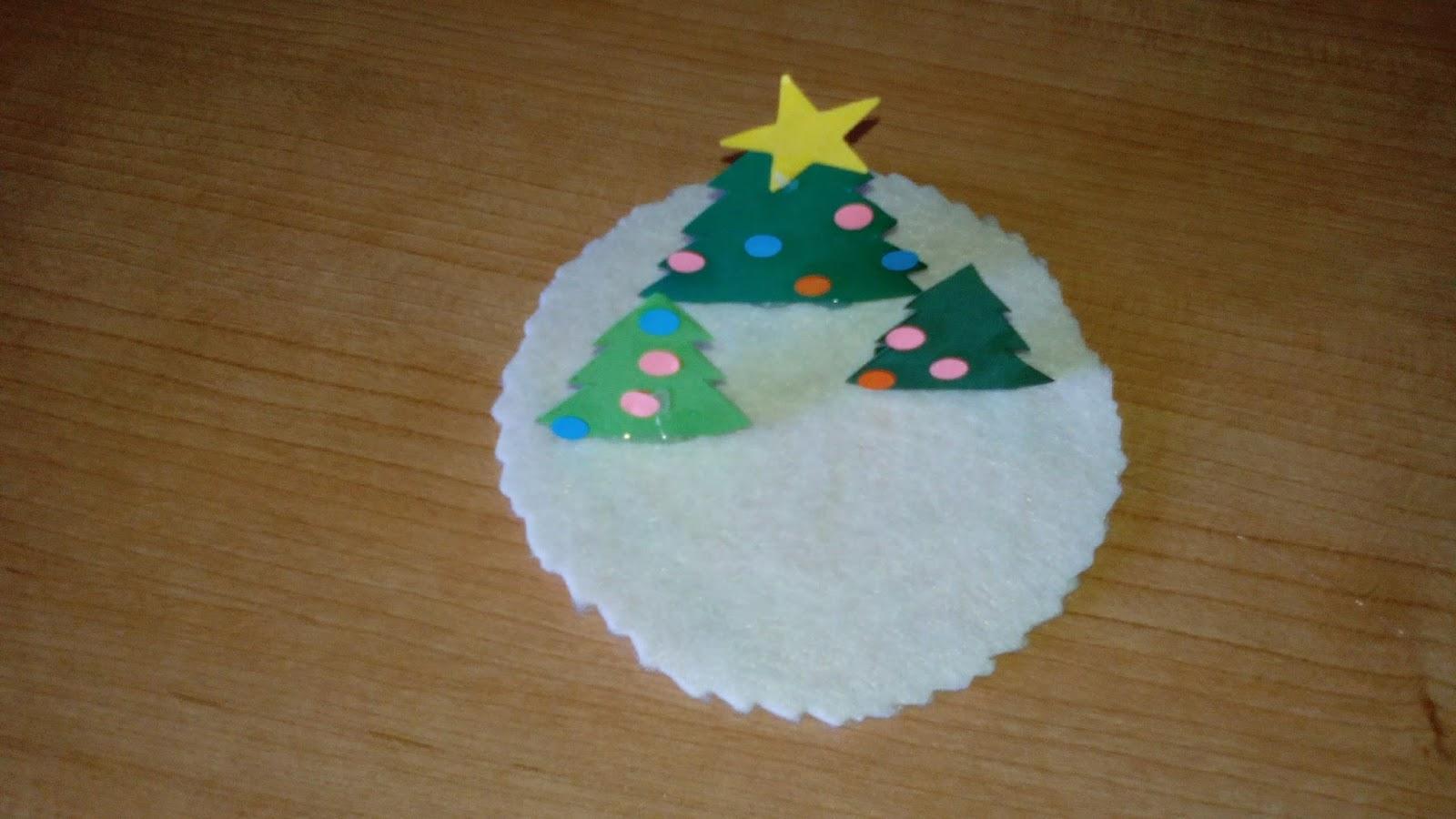 Manualidades yolohago bola de nieve de navidad - Manualidades con bolas de navidad ...