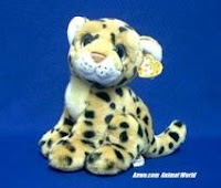 cheetah plush stuffed animal TY Serengeti