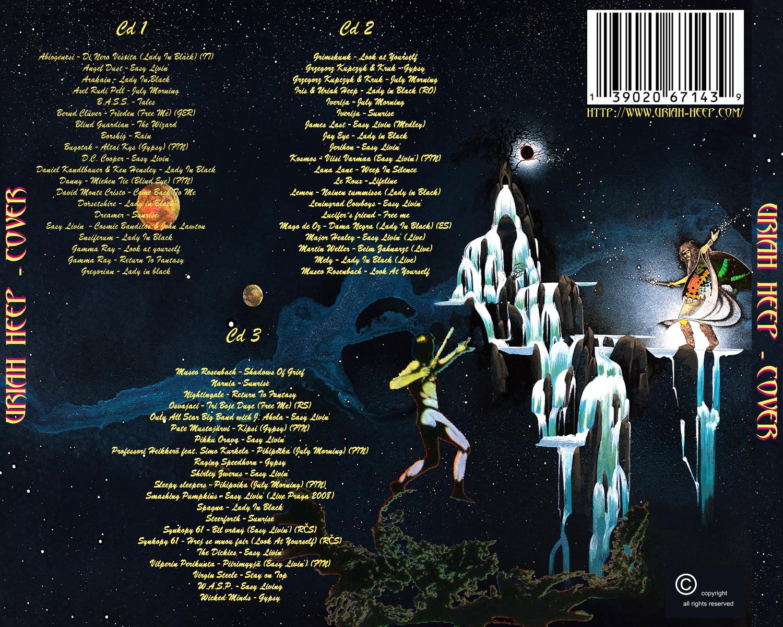 Uriah Heep Cd Covers Salisbury Album 2020 02 20