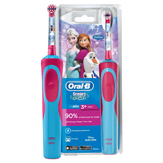Make your Kids/Childern Enjoy brushing, Choose Character Frozen/Princes (offer only £17.49)