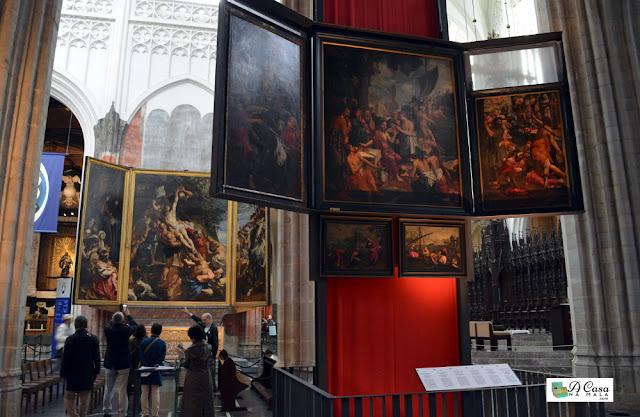 catedral da Antuérpia - Bélgica