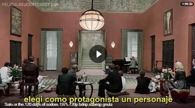 CLIC PARA VER VIDEO Salo, o los 120 dias de Sodoma - PELICULA - Italia - 1975
