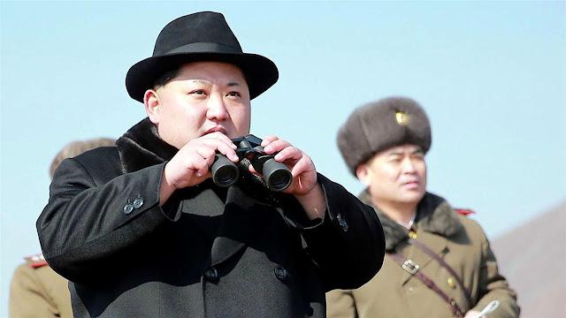 """Kim tem recentemente falado sobre a """"vitória final"""", uma referência para assumir o Sul."""