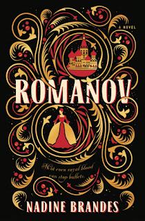 Romanov YA historical fantasy novel by Nadine Brandes