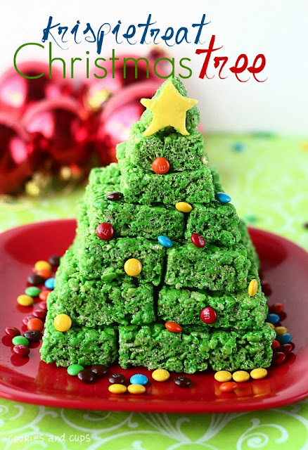 Rice Crispy Treat Christmas.Be Different Act Normal Rice Krispie Treat Christmas Tree