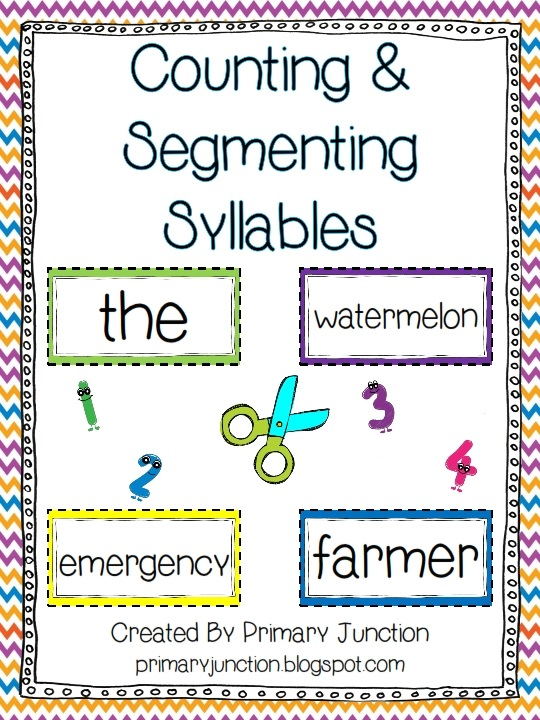 Primary Junction Counting And Segmenting Syllables