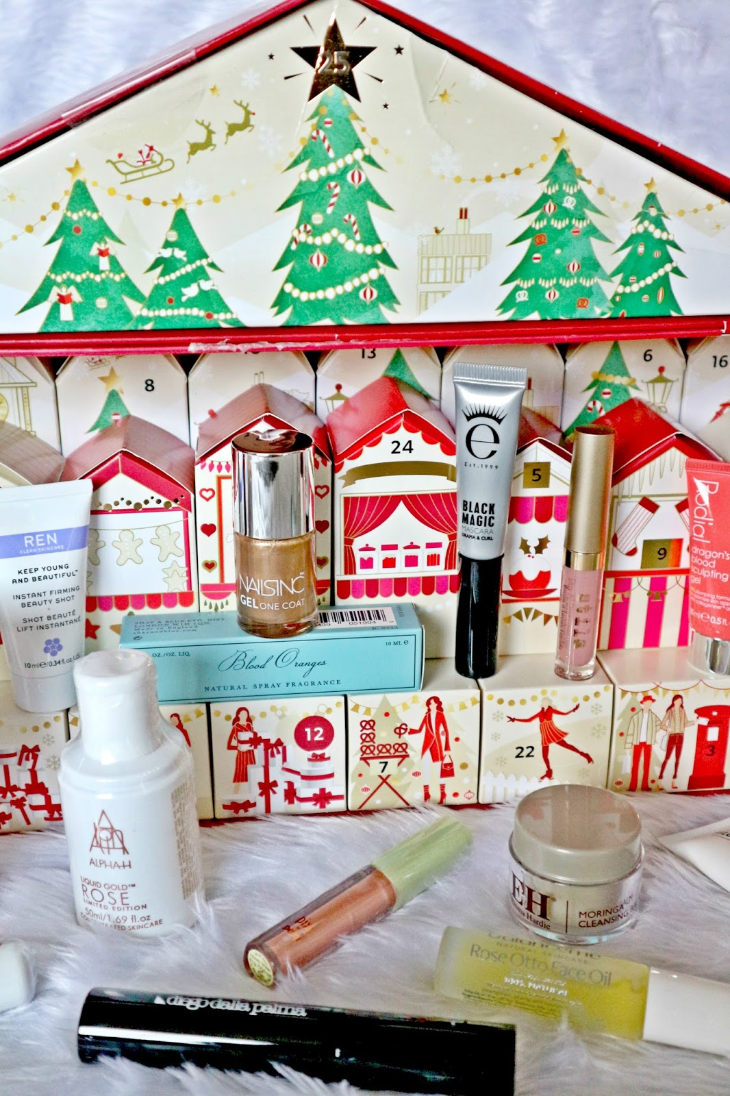 m&s beauty advent calendar 2017