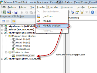 VBA: Los Módulos de Clase en Excel (Class Modules) - parte I.