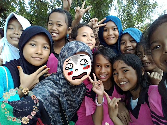 Sukaneka Anak-anak SD di Sebong Pereh