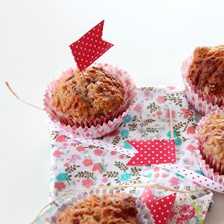 Illustration Muffin Framboise & Flocons d'Avoine