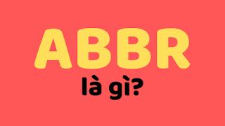 abbr là gì