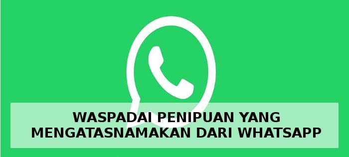 penipuan undian whatsapp terbaru