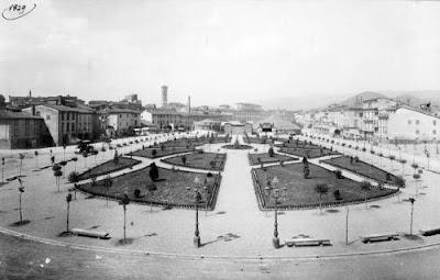 Immagine - Piazza - Mercatale - 1929 - Fiera di Prato