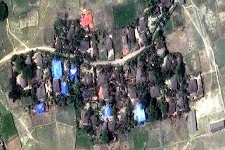 Desa Muslim di Myanmar Dibakar