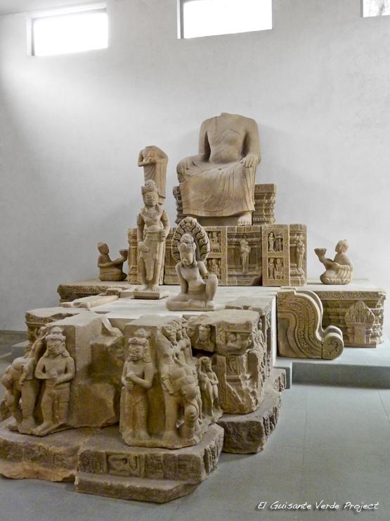 Altar Tra Kieu - Museo Cham Da Nang - Vietnam por El Guisante Verde Project