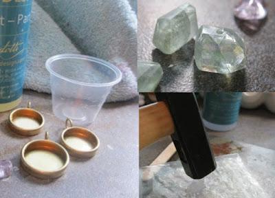 Como hacer un colgante de imitacion a Druzy o drusas