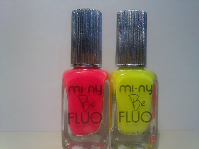 be fluo yellow and pink mi-ny