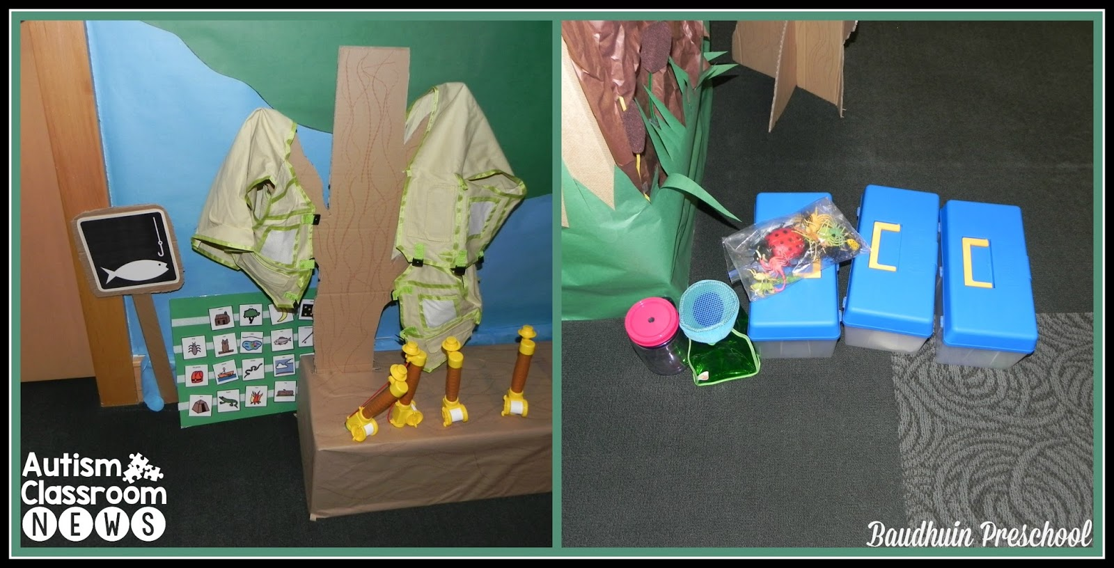 A Camping Theme For Esy From The Baudhuin Preschool Camp