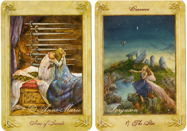 Llewellyn Tarot Nine of Swords The Star