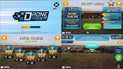 Drone Prix AR - Game sesungguhnya untuk Pilot Drone DJI