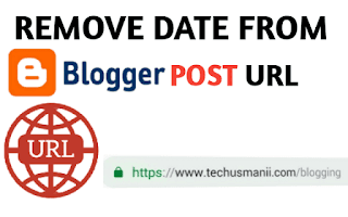 remove date from blogger post URL | change permalink