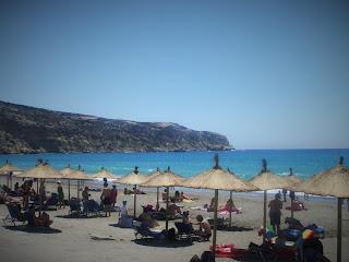 Plaża Kommos, Kommos beach
