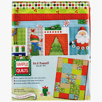 Jolly Santa Christmas Quilt Kit