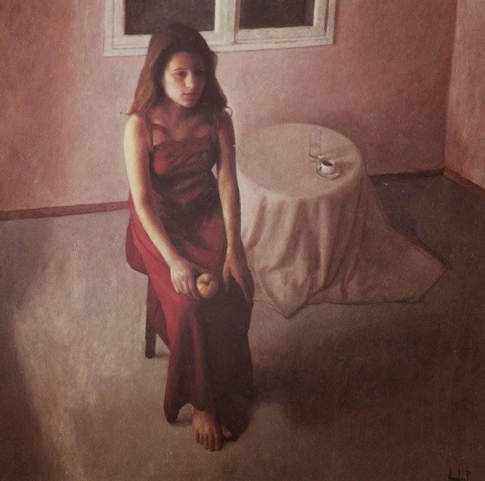 Женская фигура и яркий реализм. Rafail Baikas