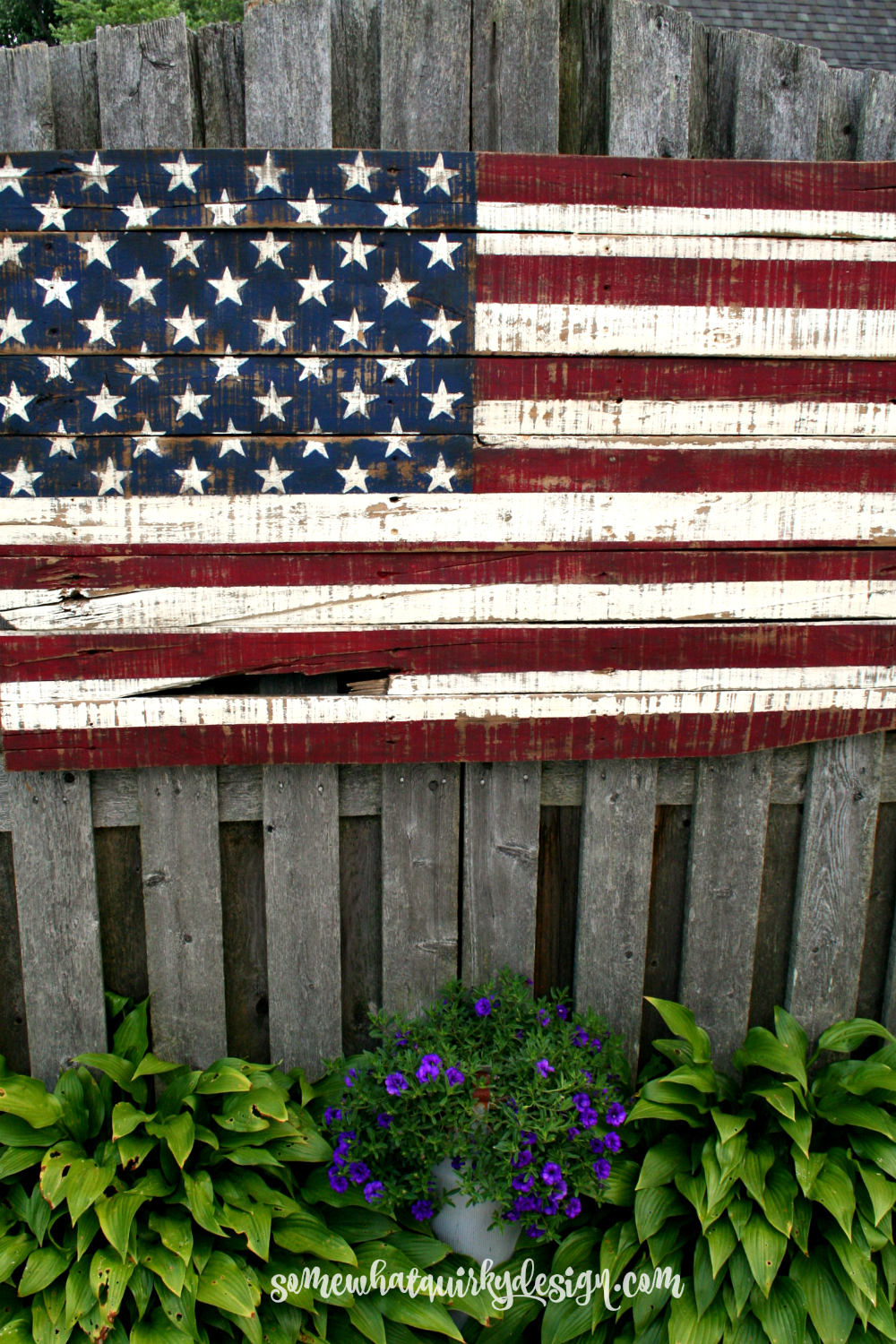 3d04205b70c3 Somewhat Quirky  Making An American Flag From Pallet Wood