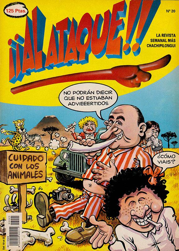 Revista Al ataque número 20