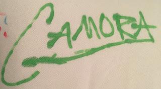 Gamora Autograph Disney Parks