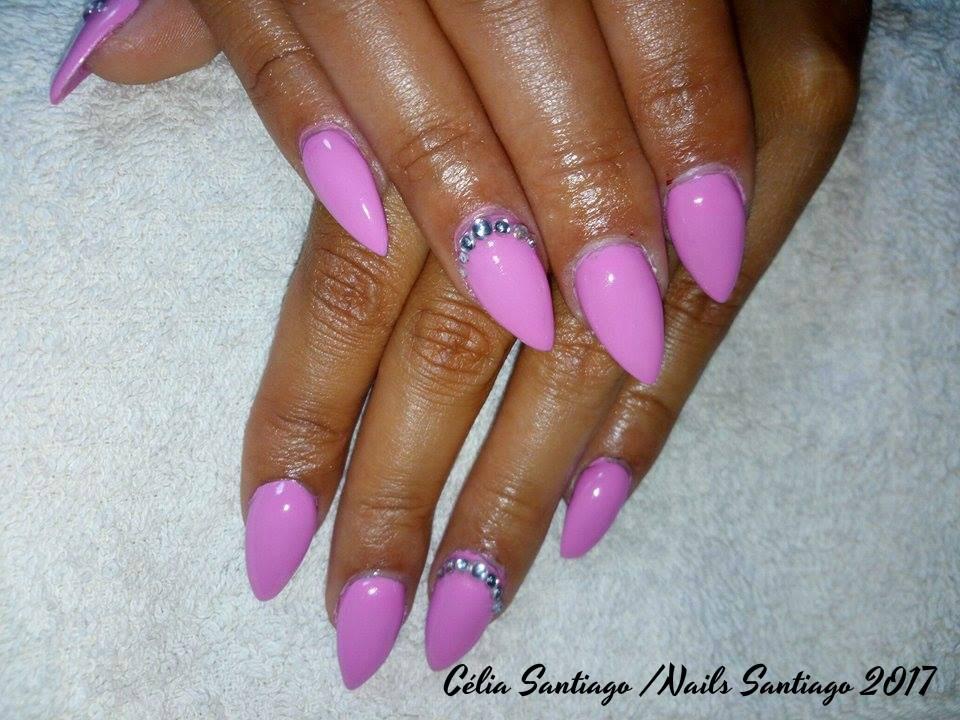 Unhas de Gel | Trabalho de Nails Santiago #5