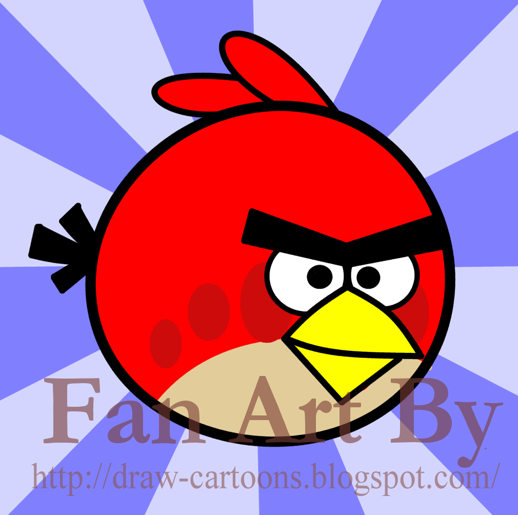 How To Draw Cartoons Angry Bird
