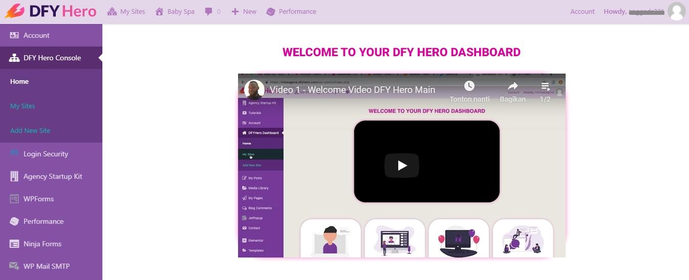 Mudahnya Membuat Website Menggunakan DFY Hero