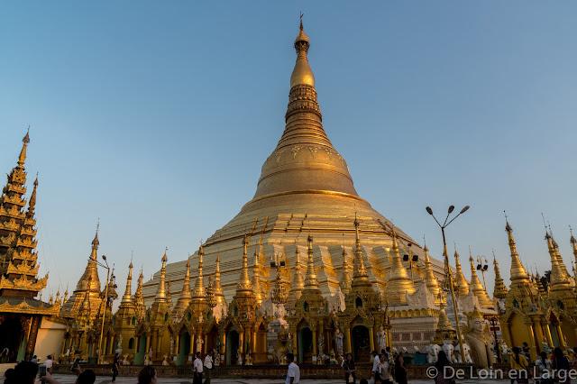 Pagode Shwedagon-Yangon-Myanmar-Birmanie