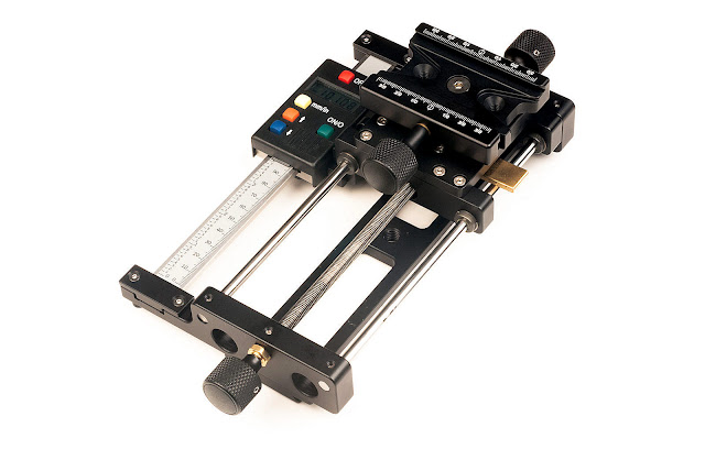 Hejnar Photo MS5_DS4 Linear Motion Macro Rail w/ Digital Scale
