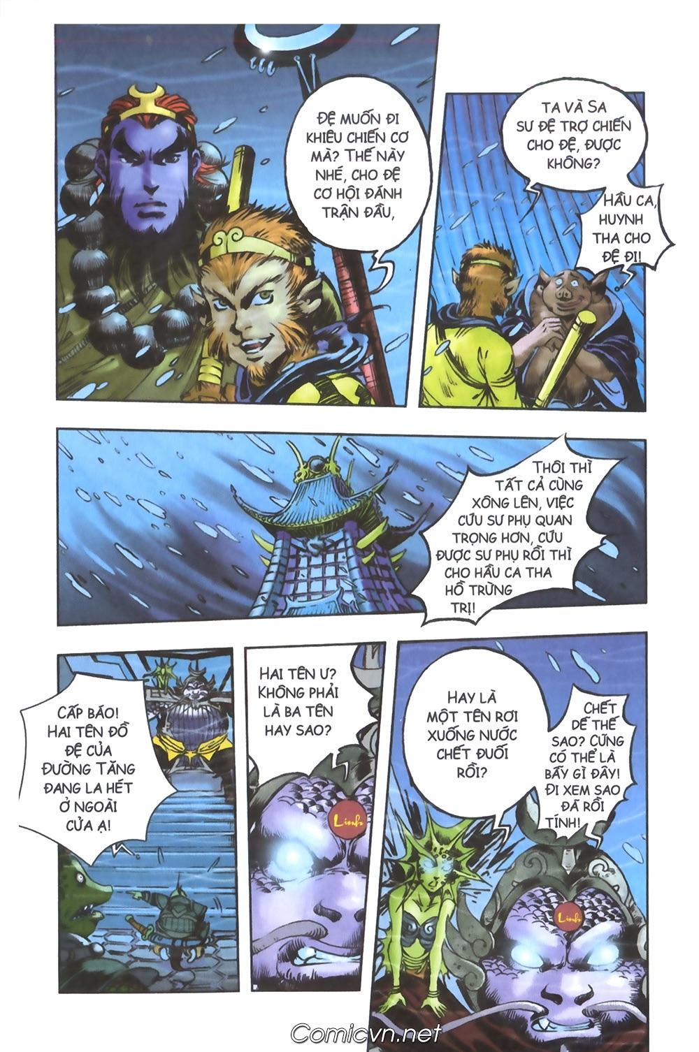 Tây Du Ký màu - Chapter 94 - Pic 22