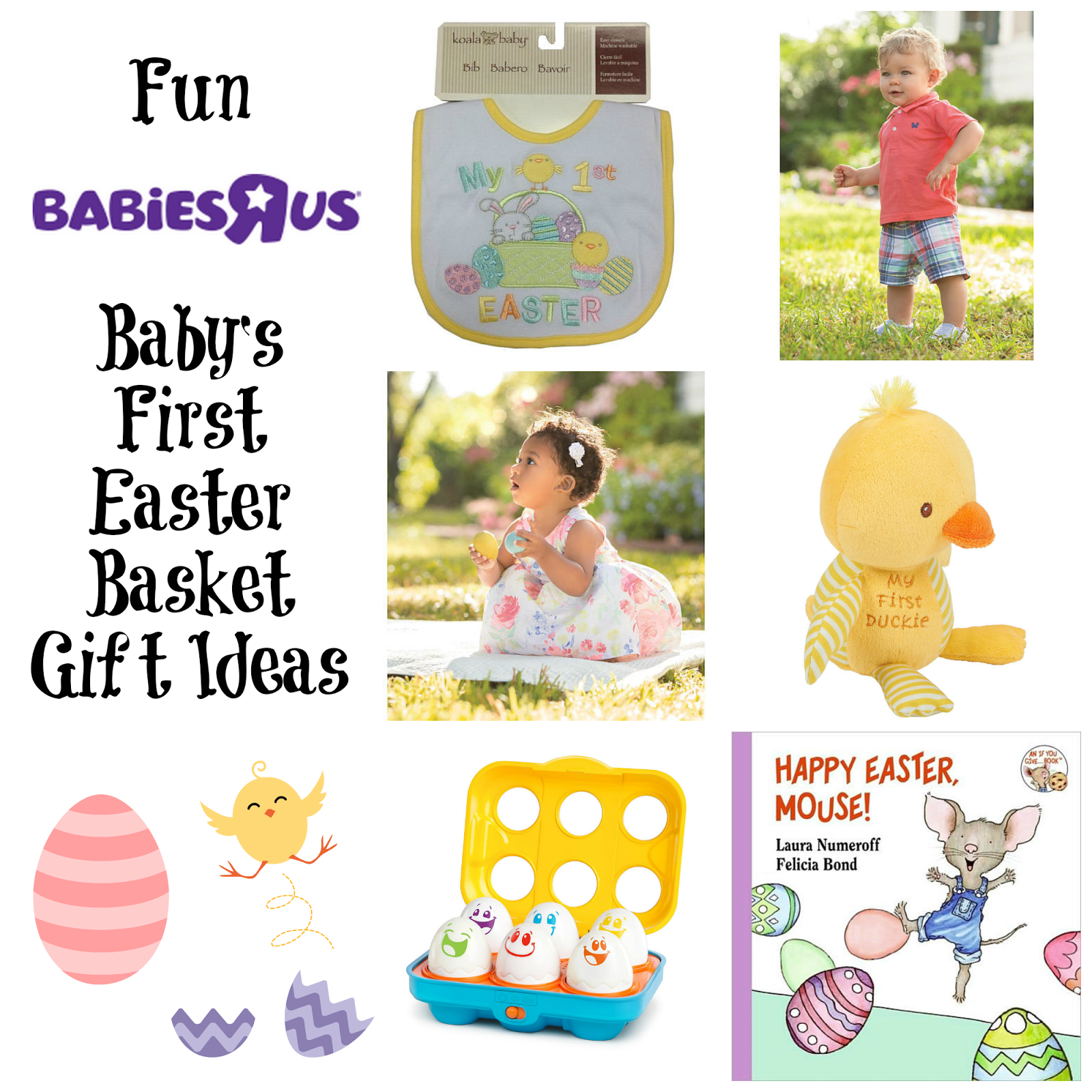 Celebrate babys first easter at babiesrus giveaway us ends 3 here are just a few of our choices and all can be purchased at your local babiesrus store negle Images