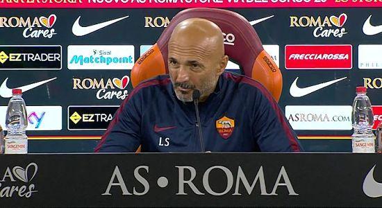 ROMA: conferenza stampa di Spalletti