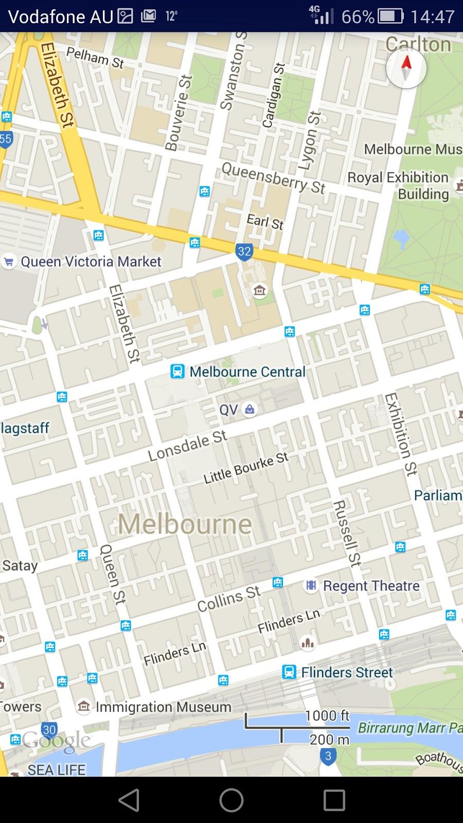 google maps app for windows phone 8