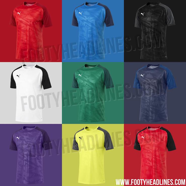 Puma 2019 'Cup Jersey Core' Teamwear Kit Leaked - Footy ...