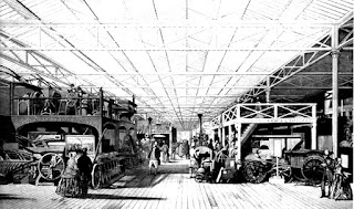 Sección de maquinaria pesada de la Exhibición
