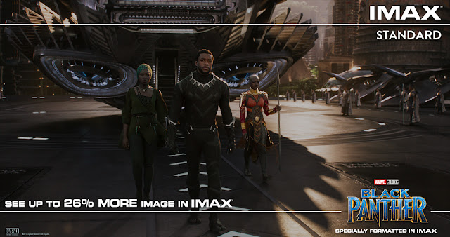 MARVEL'S BLACK PANTHER imax