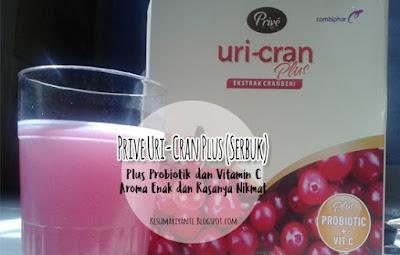 Review Prive Uri-Cran Plus, Cara Sehat Dan Praktis Mengatasi Anyang-anyangan